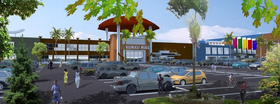 Kumasi Retail Mall Center, Ghana Africa
