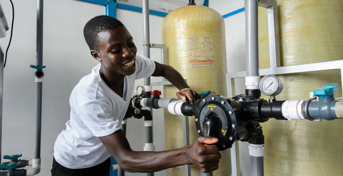Fresh Water Projects in Ghana Africa