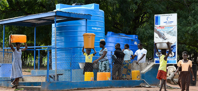 Fresh Water Management Systems in Ghana Africa